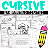 Cursive Handwriting Practice- Distance Learning