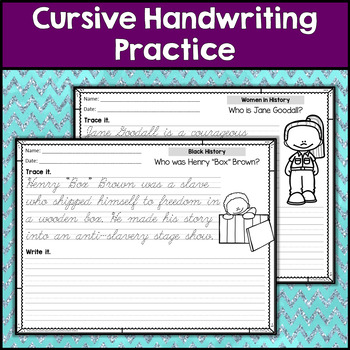 Cursive Handwriting Practice (200 Pages!)