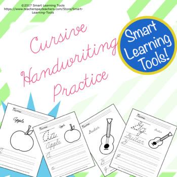 Cursive Handwriting Practice