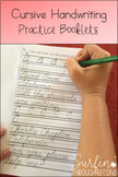 Cursive Handwriting Practice Booklets