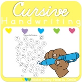 Cursive Handwriting Practice: Lowercase Letters     MMHS15