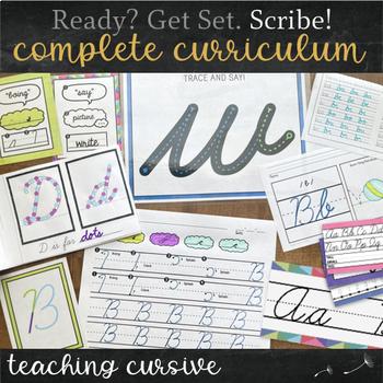 Cursive Handwriting Practice MEGA Bundle Complete Curriculum
