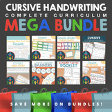 Cursive Handwriting Practice MEGA Bundle Complete Curriculum