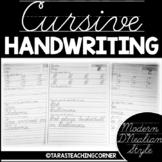 Cursive Handwriting Practice Pack (D'Nealian Cursive)