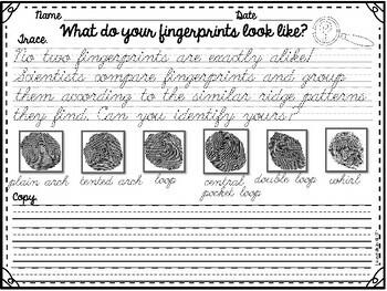 Cursive Handwriting Practice- Set 3