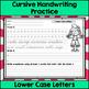 Cursive Handwriting Practice - Upper & Lower Case BUNDLE