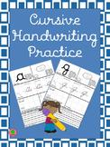 Cursive Handwriting Practice Uppercase