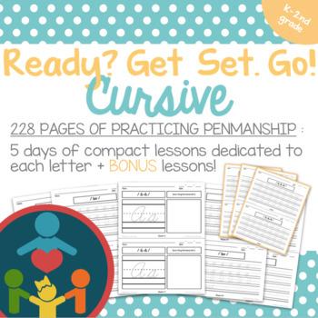 Cursive Handwriting Practice for Kindergarten - Complete Curriculum