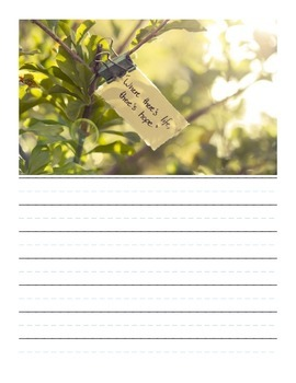 Cursive Handwriting Quotebook
