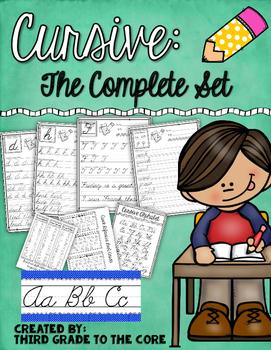 Cursive Handwriting: The Complete Set