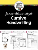 Cursive Handwriting (Traditional Zaner Bloser Manual)