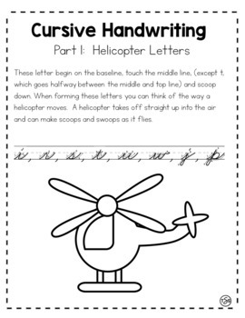 Cursive Handwriting (Traditional Zaner Bloser Manual)