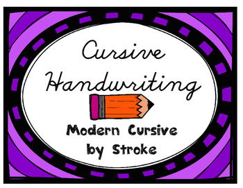 Cursive Handwriting Training Pack (Modern D'Nealian Cursive)