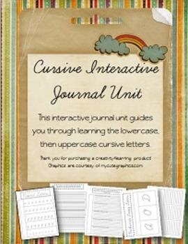 Cursive Interactive Journal Unit