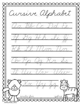 Cursive Handwriting Introduction