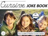 Cursive Joke Book - 35 Weeks of Cursive Handwriting Practice