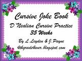 Cursive : Jokes, Limericks and Tongue Twister (3 pack) 35 weeks of Each!