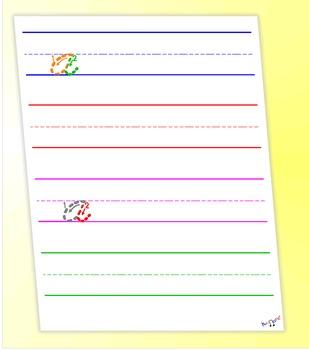 How To Write Cursive - Cursive A Worksheet - by Kidznote®