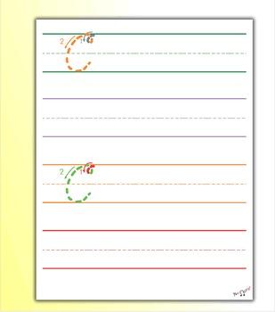 Penmanship Practice - Cursive C
