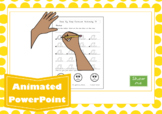 Cursive Letter Formation Animated PowerPoint