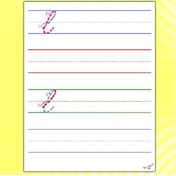 Cursive Writing Worksheets - Cursive L