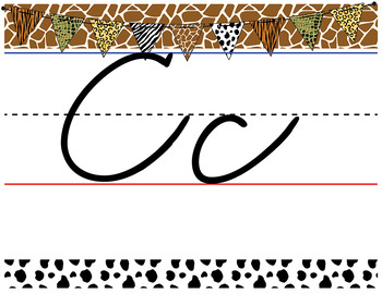 Cursive Letter Line  APT-001