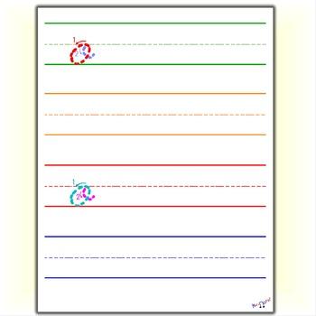 Cursive Practice - Cursive O