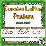 Cursive Letter Posters