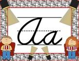 Cursive Letter Posters - Movie Theme