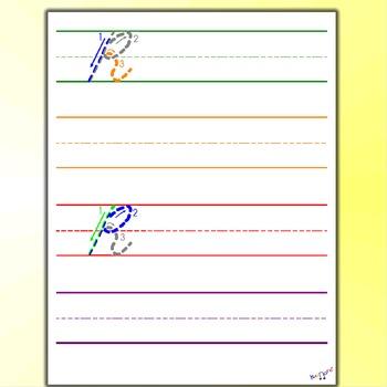 Cursive Alphabet Worksheets Cursive R By Kidznote Tpt
