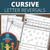 Cursive Letter Reversal Practice
