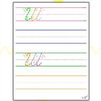 Cursive Writing Practice - Cursive W