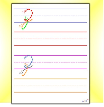 Cursive Handwriting Practice - Cursive Z