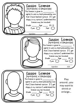 Cursive License