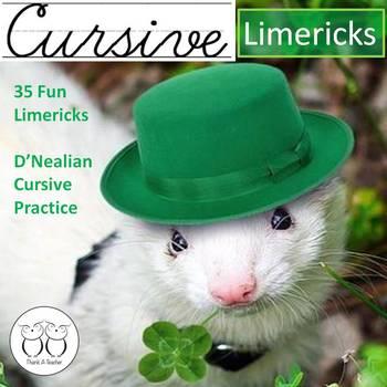 Cursive Limericks : 35 Weeks of Practice