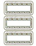 Cursive Nameplate