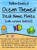 Cursive Ocean Bundle! *Desk, Wall, Calendar, & Reading Log!*
