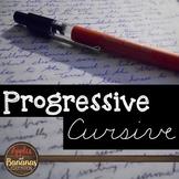 A Cursive Handwriting Practice Worksheets