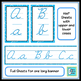 Cursive Posters - Blue Swirls