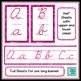 Cursive Posters - Pink Swirls