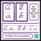 Cursive Posters - Purple Swirls