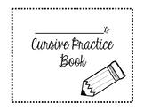 Cursive Practice Book- cover