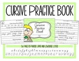 Cursive Practice Book