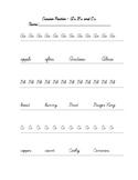 Cursive Practice - Full Alphabet