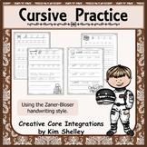Cursive Practice Pages