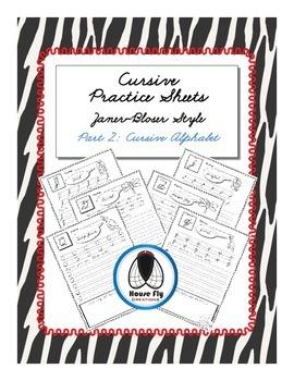 Cursive Practice Pages - Zaner-Bloser Cursive