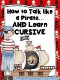 Cursive Practice Pirate Style