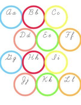 Cursive Practice Sheet