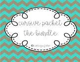Cursive Practice: The Bundle
