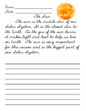Reading and Cursive - The Sun